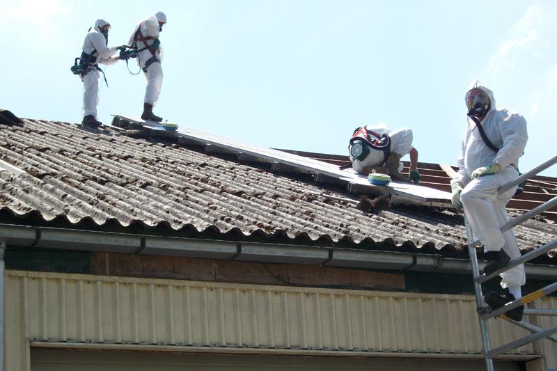 Asbest dakplaten verwijderen kosten
